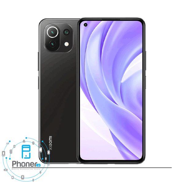 رنگ مشکی گوشی موبایل Xiaomi Mi 11 Lite