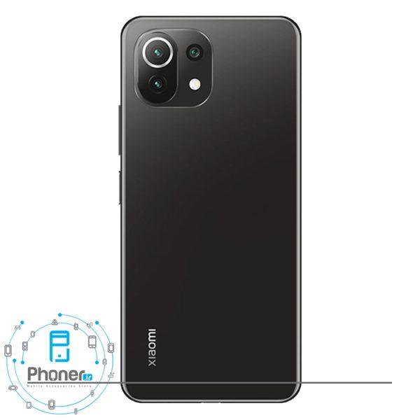 قاب پشتی گوشی موبایل Xiaomi Mi 11 Lite در رنگ مشکی