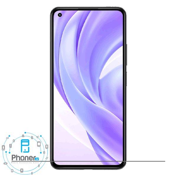 صفحه نمایش گوشی موبایل Xiaomi Mi 11 Lite در رنگ مشکی