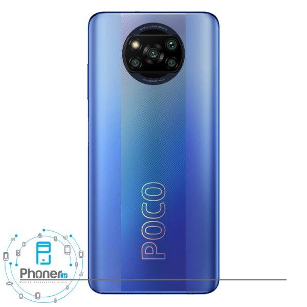 قاب پشتی گوشی موبایل Xiaomi Poco X3 Pro در رنگ آبی