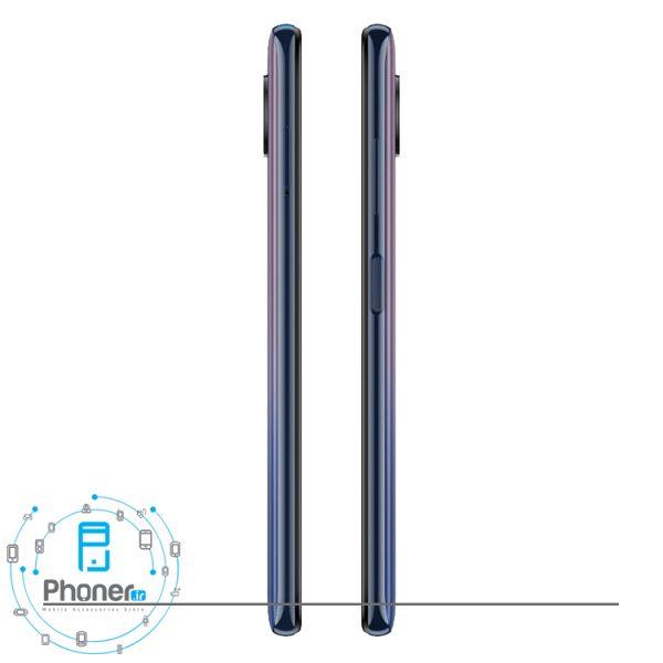 نمای کناری گوشی موبایل Xiaomi Poco X3 Pro در رنگ مشکی