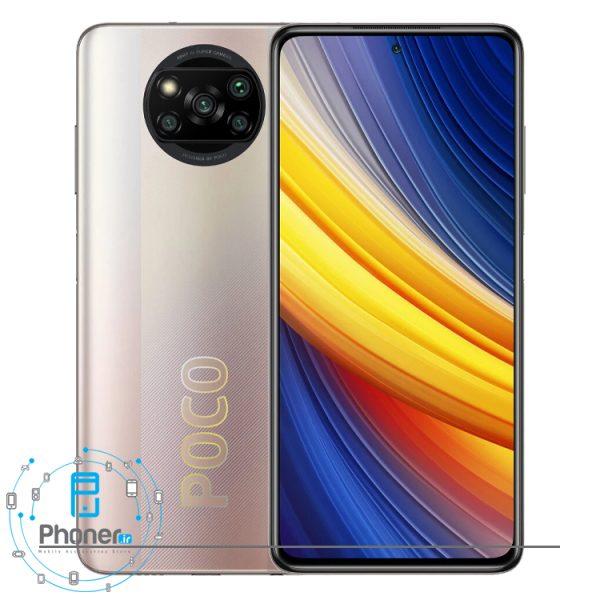 رنگ برنزی گوشی موبایل Xiaomi Poco X3 Pro