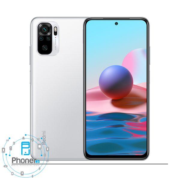 رنگ سفید گوشی موبایل Xiaomi Redmi Note 10