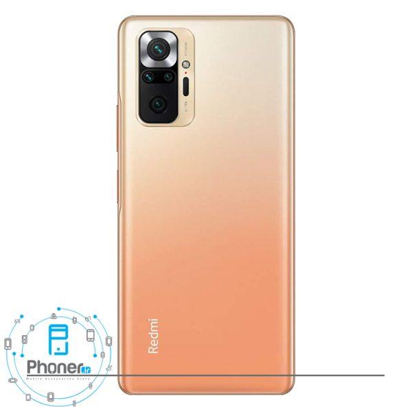 قاب پشتی گوشی موبایل Xiaomi Redmi Note 10 Pro در رنگ برنزی