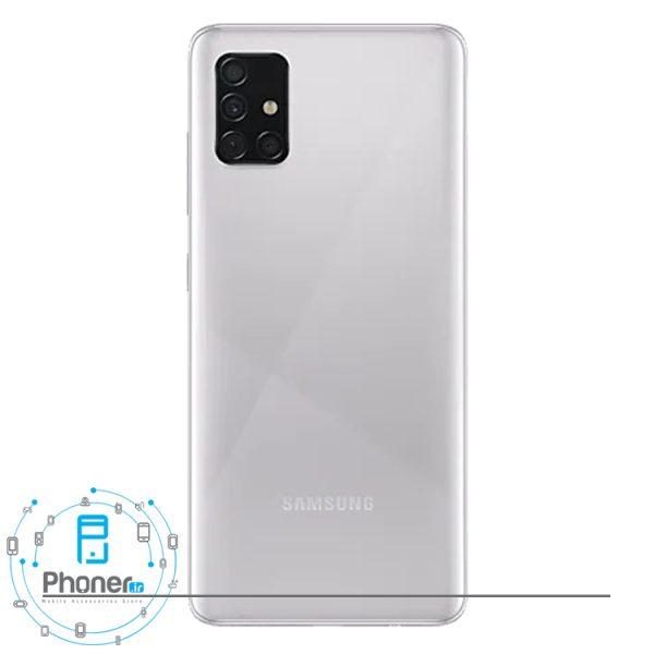 قاب پشتی گوشی موبایل Samsung Galaxy A51 در رنگ نقرهای