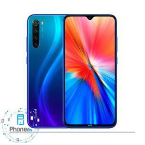 رنگ آبی گوشی موبایل 2021 Xiaomi Redmi Note 8