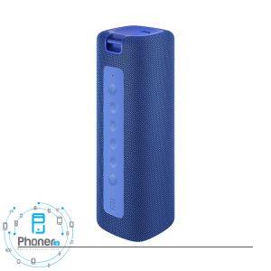 رنگ آبی اسپیکر بلوتوثی MDZ-36-DB Mi Portable Bluetooth Speaker 16W